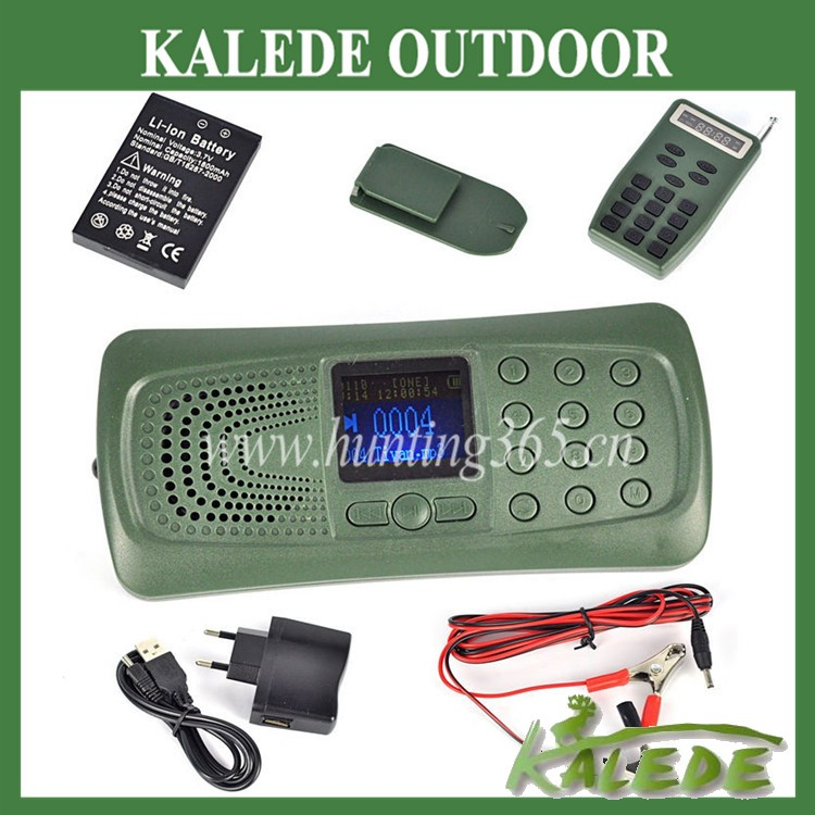 Best selling duck caller hunting mp3 player mallard decoy with remote and 1800Mah battery hunting tools digital mp3 bird calls