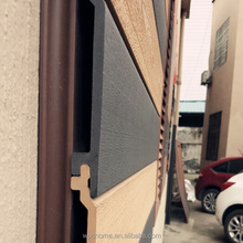 low maintenance/wpc engineered outdoor wall cladding/wood grain wpc waterproof wall