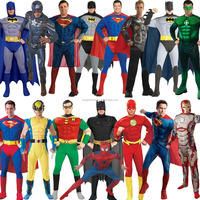 hot sales Adult Muscle Chest Padded Superhero Fancy Dress halloween Costume AGC2552