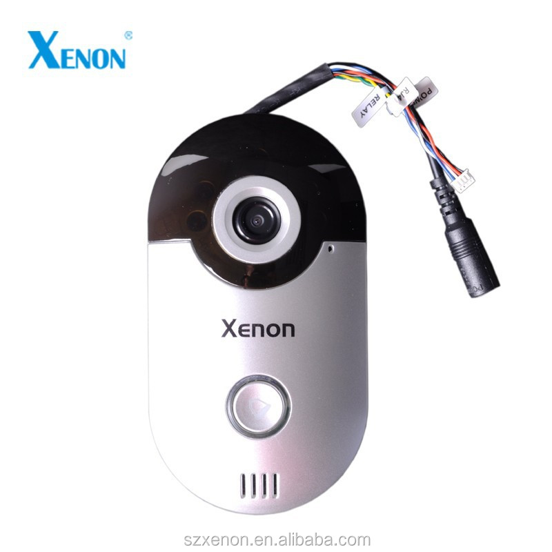 WIFI IP door bell with camera with suporting Mobile phone monitoring, talking