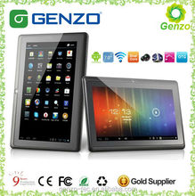 7 inch dual core high-end GPU android smart vatop tablet pc with front and rear camera
