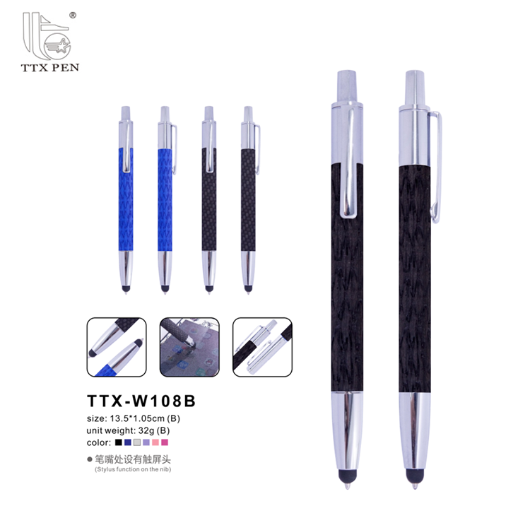 china manufacturer wholesale personalized logo pen publicity gift pen metal ball pen with logo print