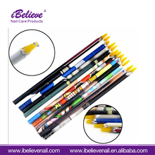 High Quality Nail Art Dotting Tool Rhinestone Picker Wax Resin Pencil 3D Nail Art Pen For Finger Beauty Design