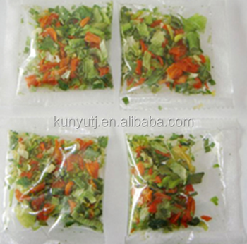 Dried vegetable for instant noodle