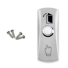 Entrance guard push switch door exit access control push release button