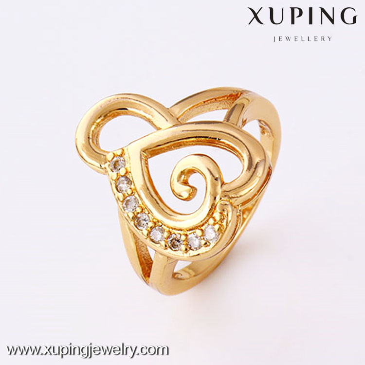 11771 Sell well 18k gold color superman wedding ring