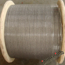 4mm Thin and Strong Non Rotating Plastic Coated Wire Rope for Lifting Hoist from Industries Dealers