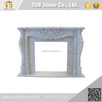 alibaba china supplier marble fireplace surround