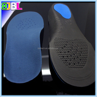 Full Length Correction insole for flat feet, Orthopedic Arch support orthotic insole,