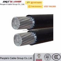 Overhead Power Distribution Line Aerial bundle cable ABC Cable