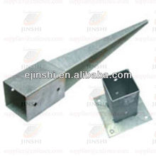 fence post metal anchors for post fasten and support