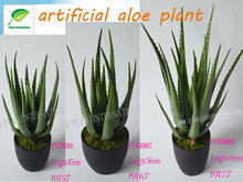 real touch artificial aloe plant plastic aloe plant green succulent plant