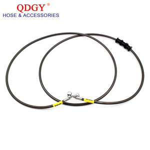automobile parts hydraulic flexible banjo fittings brake hose