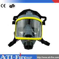 High quality silicone rubber anti gas mask for spraying chemicals