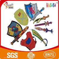 Eco-friendly safety kids toys Knights Eva Foam Sword