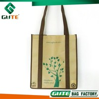 Top Quality EcoTote bag foldable shopping bag non woven material with long handle