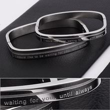 New arrival kada bangle 316l stainless steel bracelet in hot sale