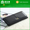 European style handbag Top layer leather Youth Long style Wallet