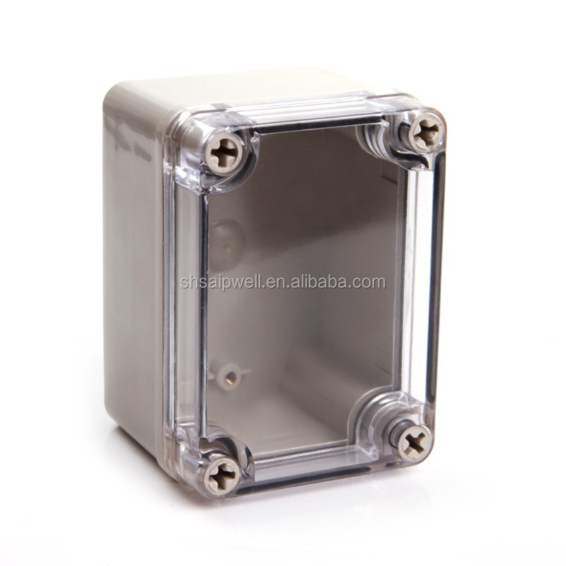 IP66 China ABS Small Waterproof Plastic Boxes With Clear Cover