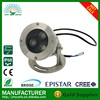 304 stainless steel loutdoor garden fountain multi color 3w swimming pool led underwater light