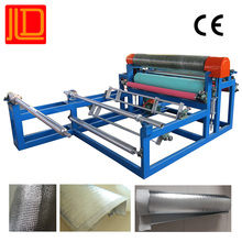Polyethylene foam laminating production line fabric rolls laminating machine