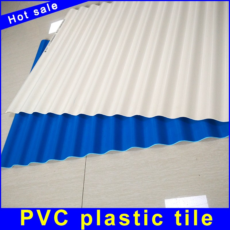 Bright color ASA corrugated plastic roofing sheet