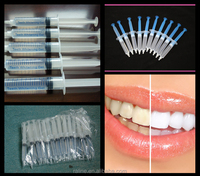 300pcs/lot Promotion 35% Carbamide Peroxide Tooth Bleaching Kit Teeth Whitening Whitener Gel Dental Whiter System
