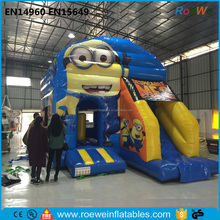Attaractive inflatable minions bouncy castle,inflatable despicable me bounce house,inflatable bouncing castle for rental