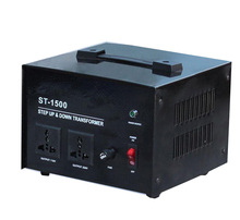Good quality ST electronic single phase power converter 110v to 220v 1500w voltage transformer