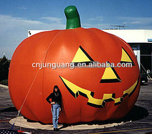 2017 Hot sale giant halloween decoration inflatable pumpkin