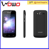 2016 low cost samrt mobile phone ADMET Y520 OEM mobile phone 4 inch android4.4..0 black,white mobile phone