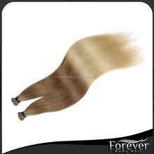 Alibaba <strong>express</strong> wholesale brazilian virgin hair I tip hair extension double drawn wholesale alibaba