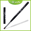 2016 BQAN New Design Black Wood Handle with Beautiful Flower Synthetic Hair Oval Art UV Gel Brush Painting Nail with Metal Cap