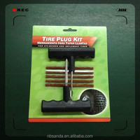 7 piece tire repair kit / T-handle screw probe tools / T-handle plugger