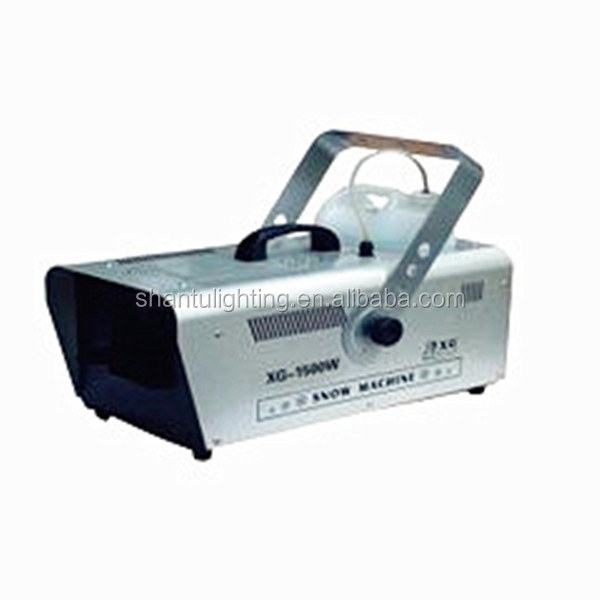 Baisun brand Circuitry Control Hot Selling Cleaning 1500W Snow Machine Ice SanTu Stage Effects Lighting Equipment