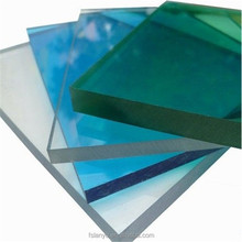 twin wall opal white polycarbonate hollow sheet with lightweight construction materials