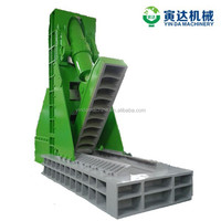 automatic large waste tire cutter machine, OTR tire cutting device,OTR tyre recycling plant