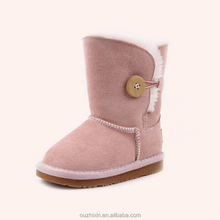 plain winter snow boots for babies