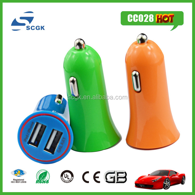 factory supply promotional mini dual usb car charger electronics projects