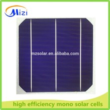 2016 monocrystalline silicon solar cell/156mm mono solar cell 5W to 300W cheap silicon wafer for solar cell