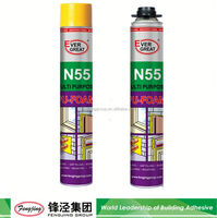 Building fire resistant 700g white construction insulation pu foam sealant for sale