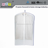 Wholesale clear PEVA suit cover garment bag