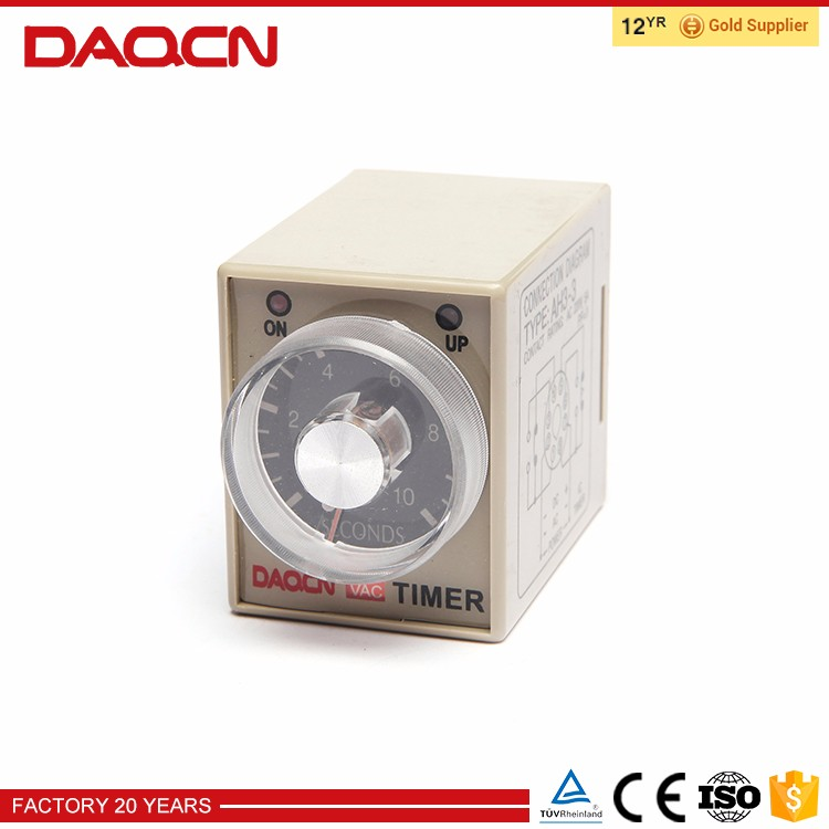 DAQCN AH3 3 AC Time Relay Latching Relay 220V