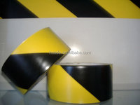 detectable yellow black floor marking caution tape