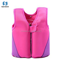 New design waterproof custom made neoprene children life jacket