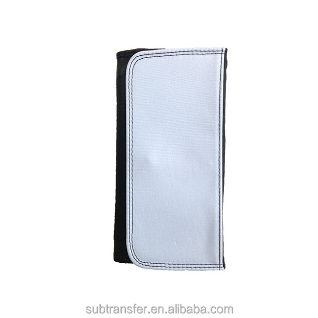 Custom Great Quality Large Sublimation leather Wallet