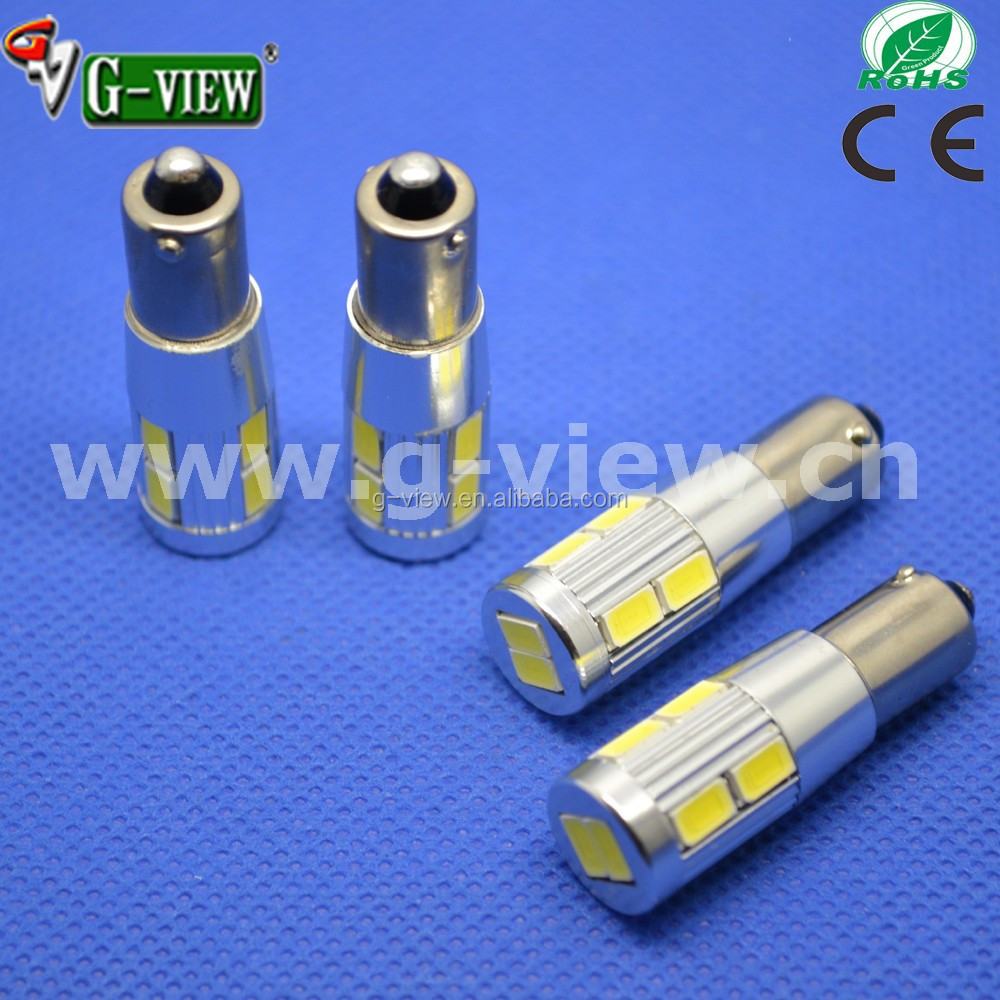 New listing Ba9s 10smd 5630 car turn reverse lights bulb, 12V error free auto brake parking led light