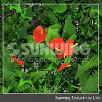 eco friendly artificial plastic boxwood hedge vines fencing