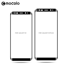 Mocolo 3D CURVED full cover New Protective Film For Mobile Tempered Glass screen protector For Samsung S9