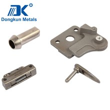 custom stamping machinery parts with draws